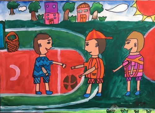 六一儿童画画图片2