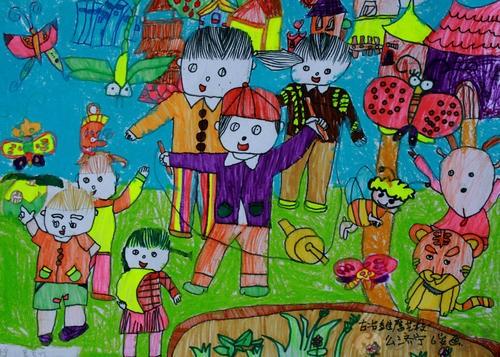 六一儿童画画图片3
