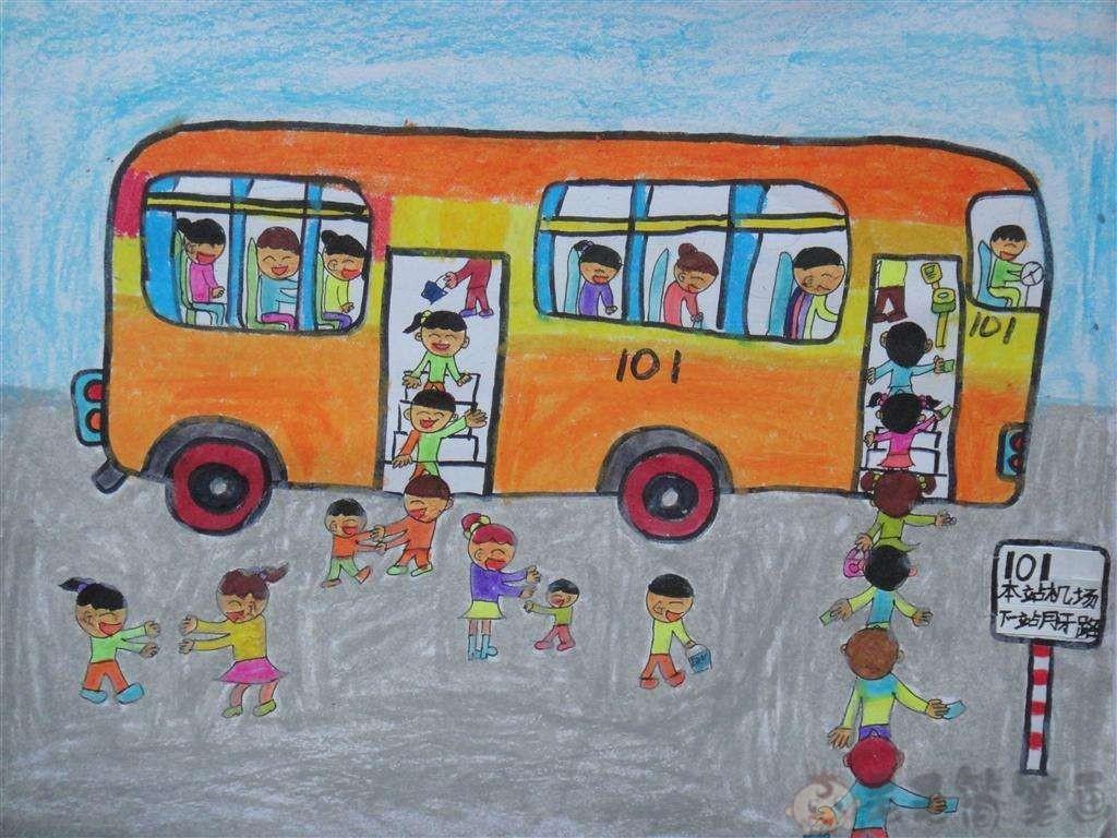 爱护公物儿童画_文明好习惯儿童绘画作品大全 - 毛毛简笔画