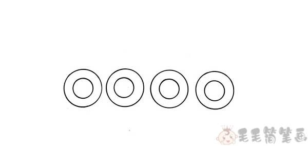 装甲车简笔画画法1