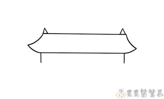 天安门简笔画1