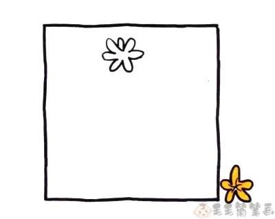 风信子鲜花简笔画