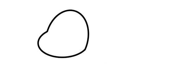 卡通乌龟简笔画彩色画法 中级简笔画教程-第2张