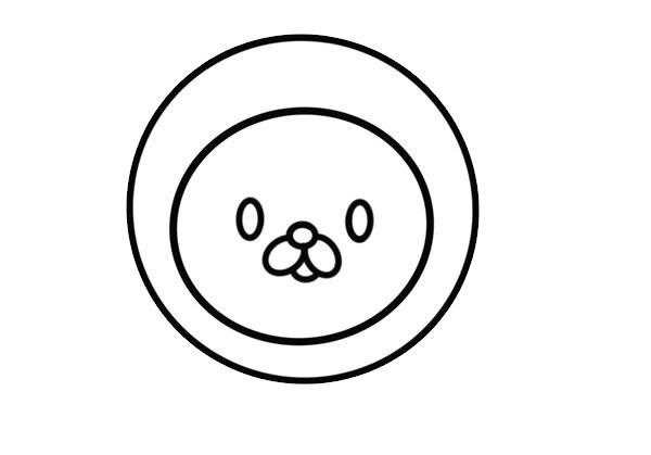 卡通狮子简笔画,可爱的狮子画法 初级简笔画教程-第3张