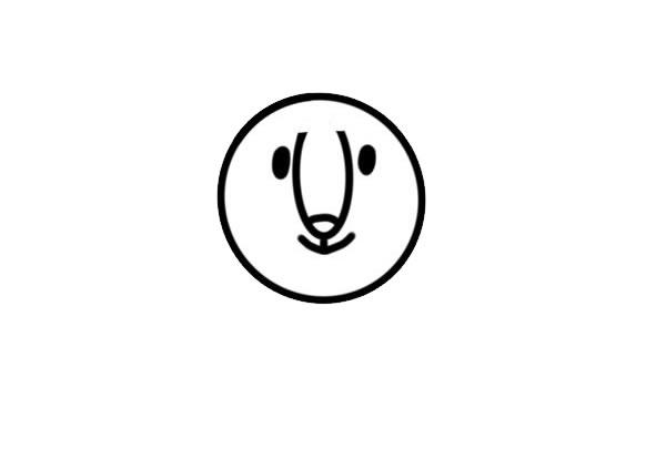 可爱雄狮简笔画彩色画法 中级简笔画教程-第2张