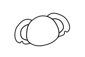 考拉简笔画简单画法 初级简笔画教程-第4张