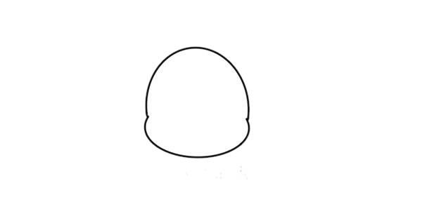 彩色长颈鹿儿童简笔画画法 中级简笔画教程-第2张