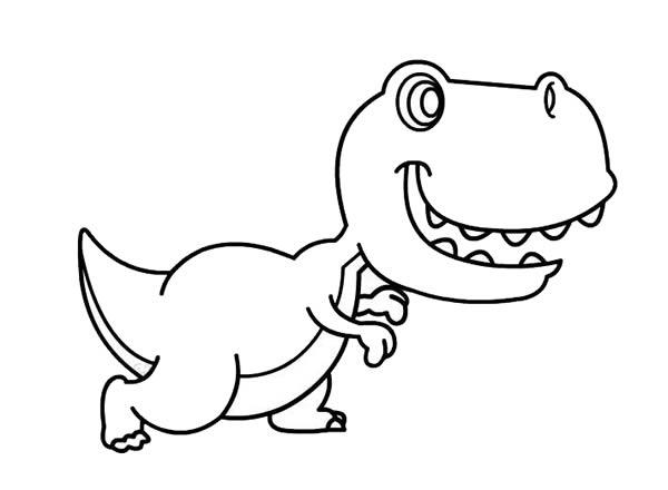 儿童简笔画学画恐龙 中级简笔画教程-第5张