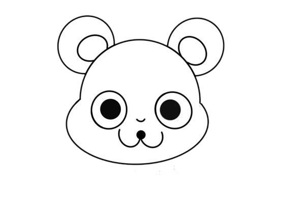 卡通老鼠简笔画,q版老鼠儿童简笔画 中级简笔画教程-第3张
