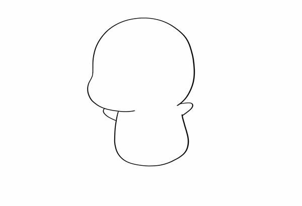 可爱喷火龙简笔画图片 小火龙怎么画 一步一步 中级简笔画教程-第2张