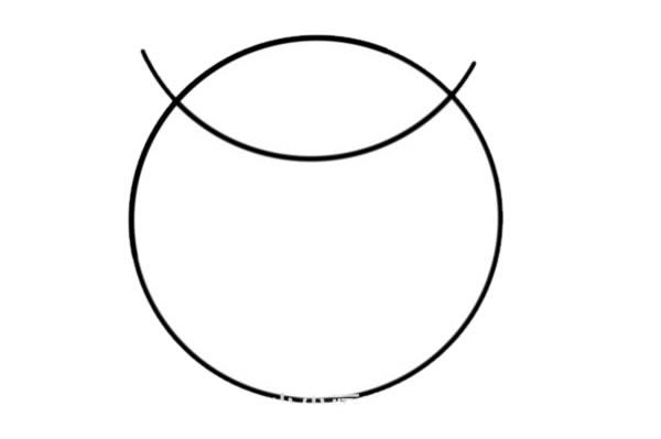 少儿简笔画猫头鹰画法 中级简笔画教程-第2张