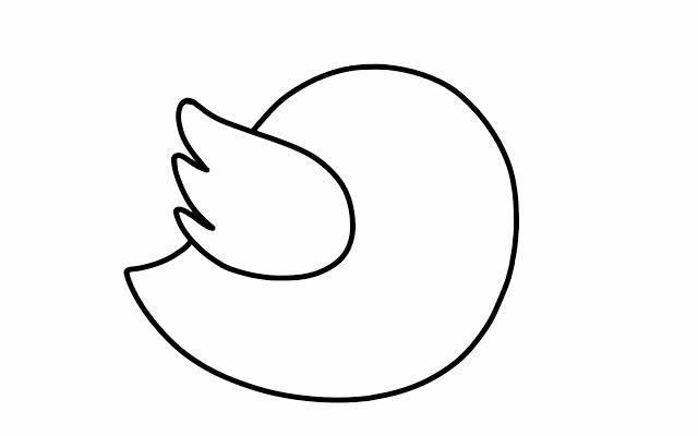 彩色小鸟的简画法 初级简笔画教程-第3张
