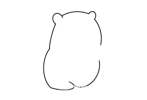 松鼠简笔画彩色可爱 松鼠怎么画悦目又简朴 中级简笔画教程-第3张