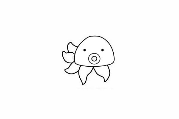 简单又漂亮的章鱼怎么画 初级简笔画教程-第7张