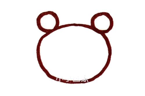 彩色螃蟹儿童简笔画画法 初级简笔画教程-第3张