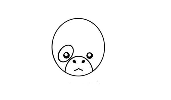 卡通奶牛简笔画,奶牛儿童画图片 中级简笔画教程-第3张