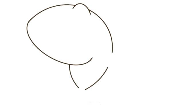 卡通鲨鱼简笔画彩色图片教程 中级简笔画教程-第3张