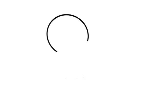 刚出生的小鸡简笔画画法 初级简笔画教程-第2张