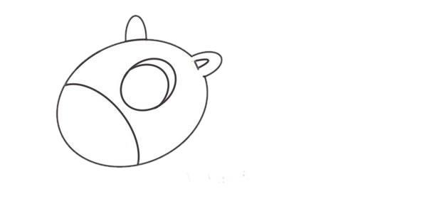 小马简笔画画法,儿童简笔画教程 初级简笔画教程-第3张