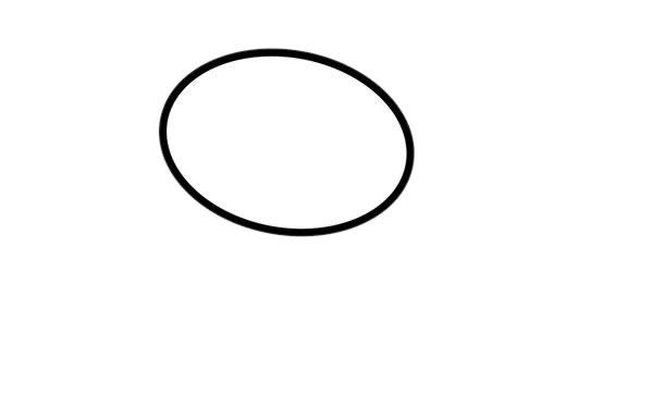 卡通蛇简笔画画法步骤步骤图片 动物-第2张