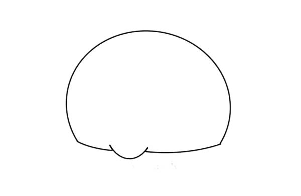 卡通小香猪简笔画步骤图解教程 中级简笔画教程-第2张