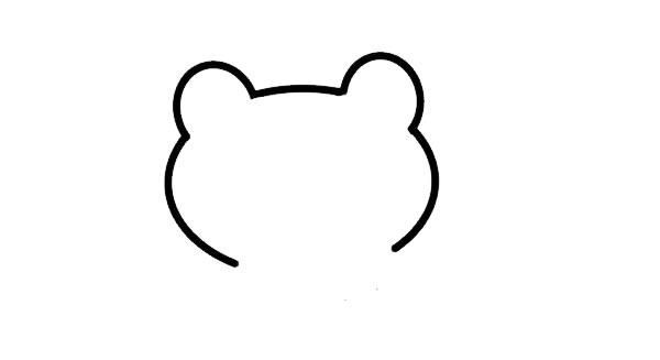 绿色的小青蛙简笔画画法 中级简笔画教程-第2张