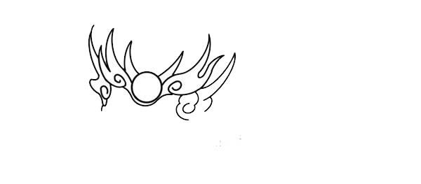 年兽简笔画,年兽怎么画 动物-第3张