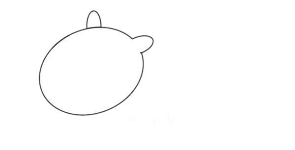 小马简笔画画法,儿童简笔画教程 初级简笔画教程-第2张