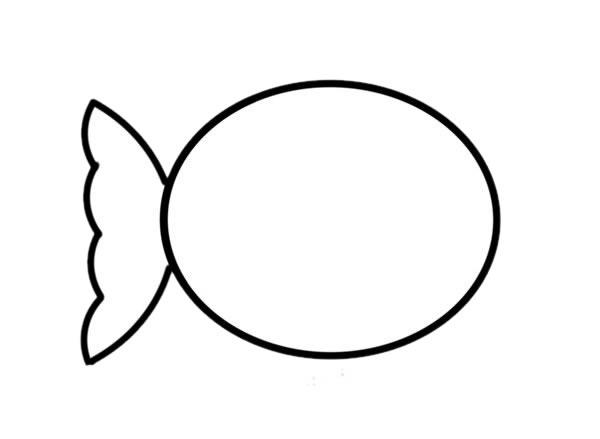 简笔画小丑鱼的画法步骤_可爱小丑鱼简笔画步骤图片 动物-第3张