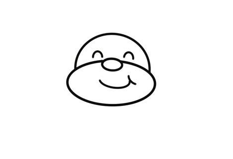 可爱的卡通驯鹿简笔画画法 中级简笔画教程-第3张