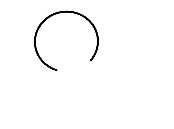 小鸡简笔画,儿童简笔画画法小鸡 中级简笔画教程-第2张