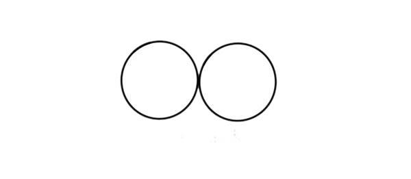猫头鹰怎么画 可爱呆萌猫头鹰简笔画步骤图解教程 中级简笔画教程-第2张