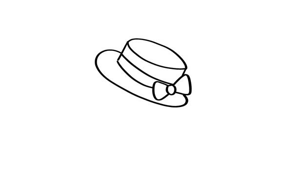 可爱的q版仓鼠简笔画画法 动物-第2张