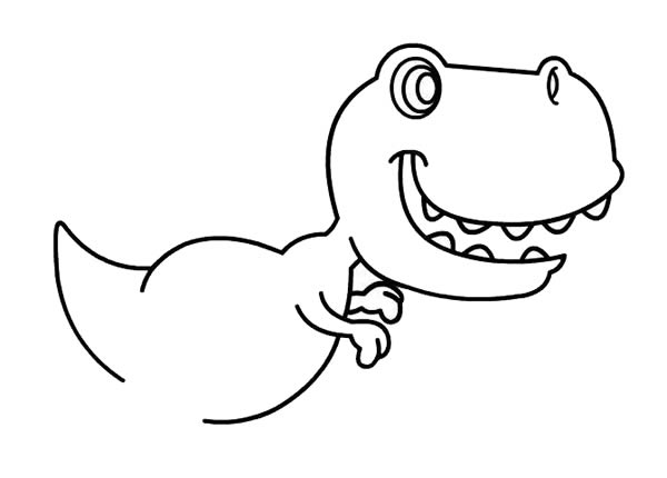 儿童简笔画学画恐龙 中级简笔画教程-第4张