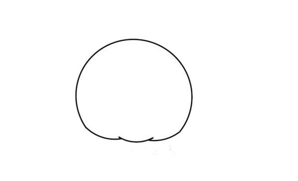 卡通q版花豹简笔画,猎豹简笔画 中级简笔画教程-第2张