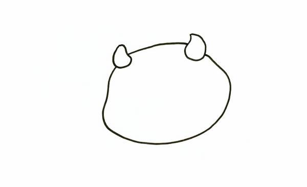QQ红包牛怎么画 中级简笔画教程-第2张