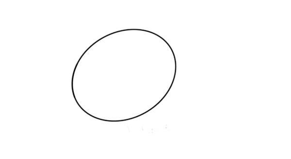 简单可爱山羊简笔画步骤图解教程 中级简笔画教程-第2张