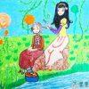 感恩母亲节儿童画画