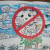 世界无烟日儿童绘画