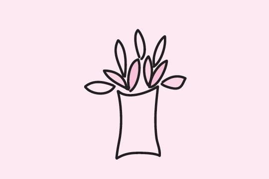 竹子简笔画的画法步骤 植物-第6张