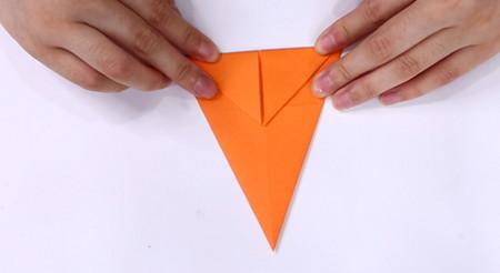 手工折纸飞机的步骤图解 手工折纸-第6张