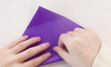 手工折纸文具盒步骤图 手工折纸-第4张