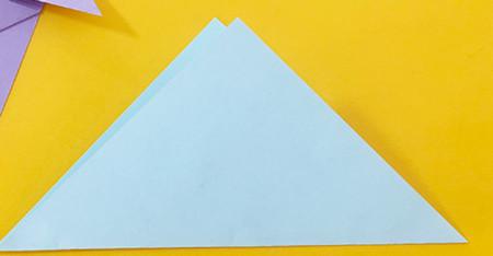 简单手工折纸小狗的步骤图解 手工折纸-第3张