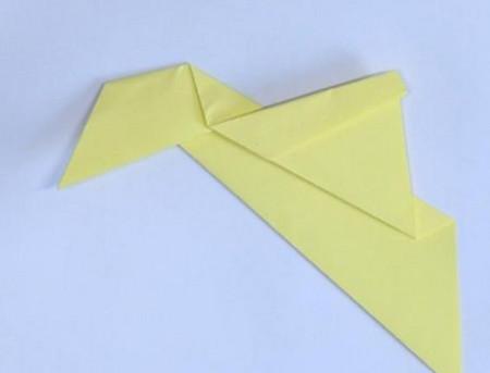 小鸭子折纸步骤图解法 手工折纸-第3张