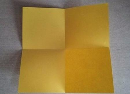 彩色立方体折纸教程 手工折纸-第3张
