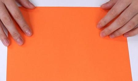 伸缩扇子的折法图解 手工折纸-第2张