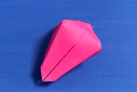 花骨朵折纸的折法图解 手工折纸-第8张