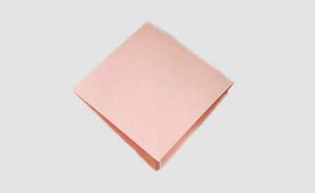 折纸百合花图解步骤 手工折纸-第2张