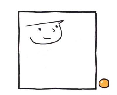 交警叔叔儿童简笔画画法 中级简笔画教程-第2张