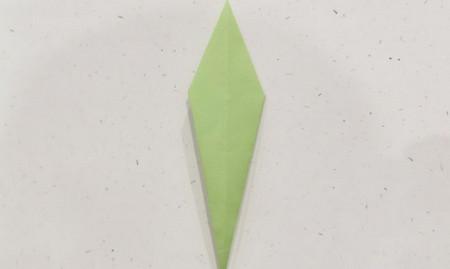 郁金香手工折步骤图解 手工折纸-第18张